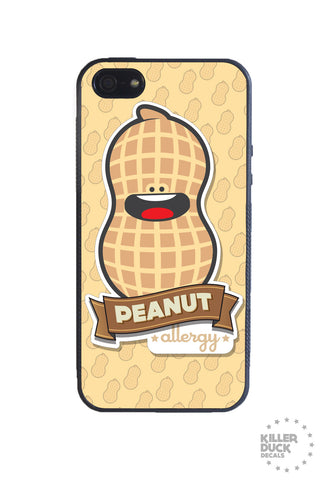 Peanut Allergy iPhone Case