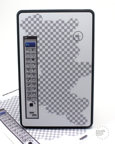 Photoshop Kindle Fire skin
