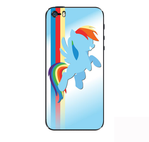 Rainbow Dash iPhone Skin