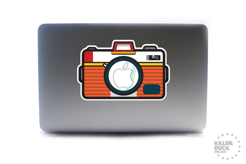 Rouge Camera Macbook Skin