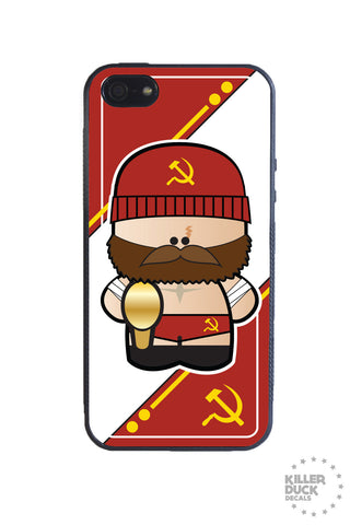 Russian Luchador iPhone Case
