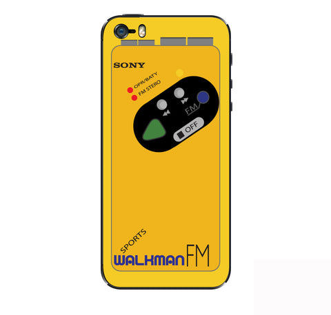 Sony Walkman iPhone Skin