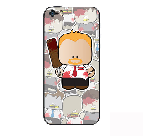 Shaun of the Dead iPhone Skin