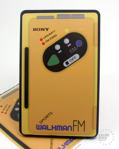 Sony Walkman Kindle Fire skin