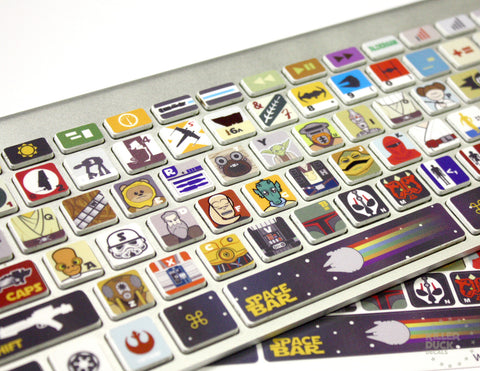 Macbook Keyboard Star Wars Skin