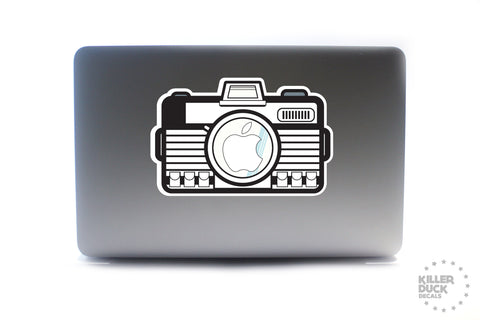 Storm Camera Macbook Skin