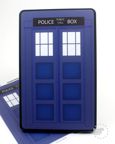 Tardis Kindle Fire skin