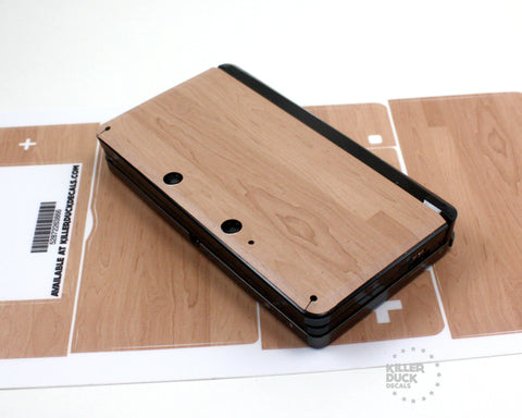 Wood Nintendo 3DS skin