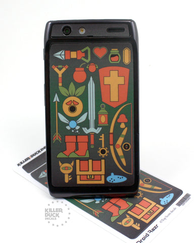Zelda Weapons Razr Skin