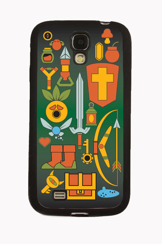 Zelda Weapons Samsung Galaxy S IV Case