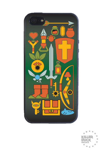 Zelda Weapons iPhone Case
