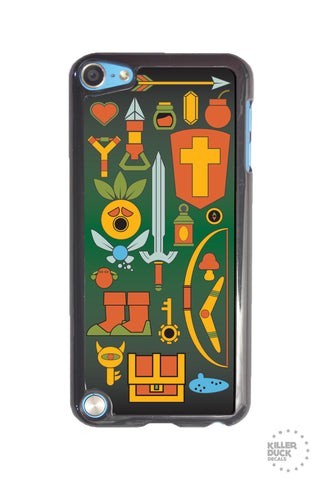 Zelda Weapons iPod Case