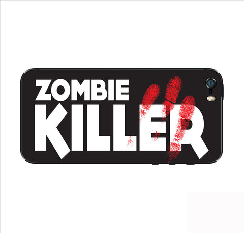 Zombie Killer iPhone Skin