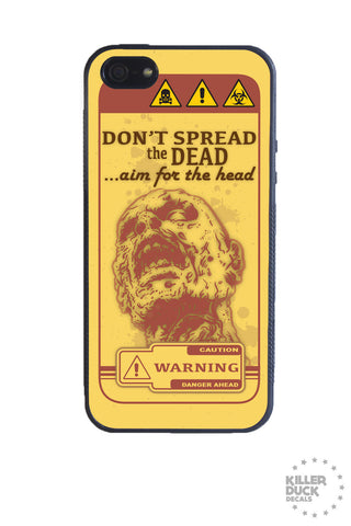 Zombie PSA iPhone Case