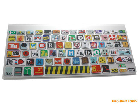 "Macbook Keyboard ""Assortment"" Skin"