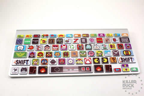 Macbook Keyboard Video Game Skin