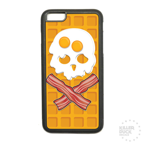 Death By Breakfast iPhone Case