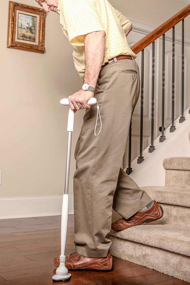 Walking with  a Stylish All Terrain Cane