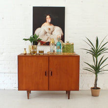 Load image into Gallery viewer, Danish Teak Bar Cabinet