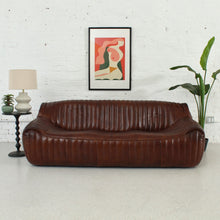 Load image into Gallery viewer, Walter Pleated Leather Sofa
