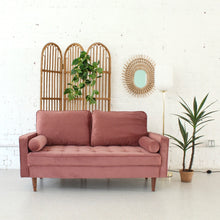 Load image into Gallery viewer, Mia Dusty Pink Loveseat