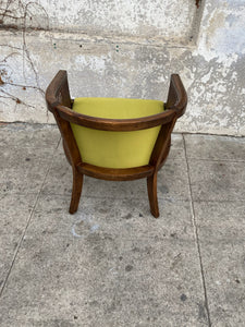 Green Chartreuse Armchair