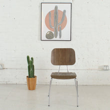 Load image into Gallery viewer, Walnut Plywood Desk Chair
