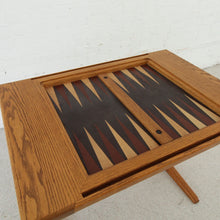 Load image into Gallery viewer, Vintage Danish Backgammon Game Table