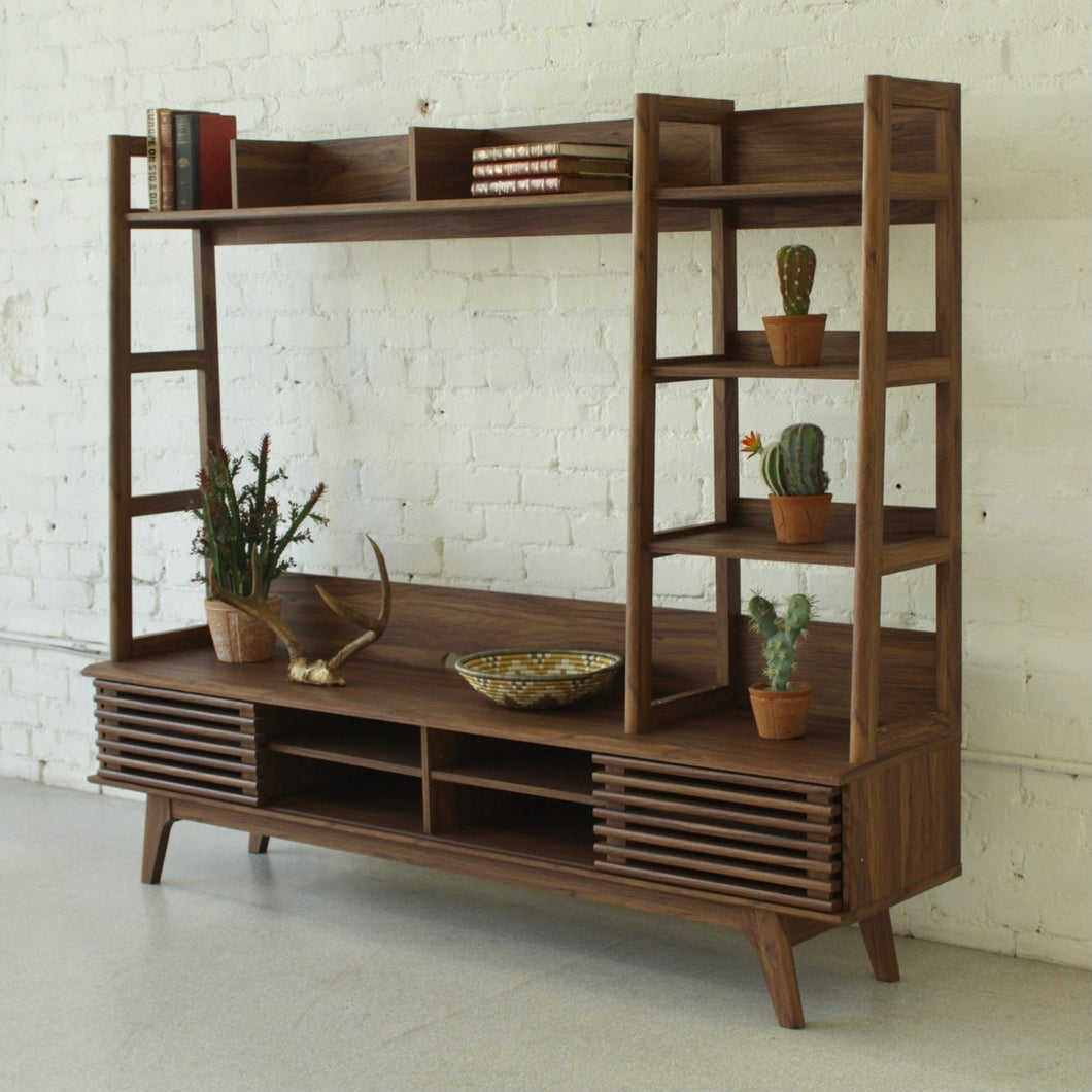 Felix Media Cabinet with Shelves
