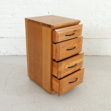 Load image into Gallery viewer, Mengal Four-Drawer Tall Nighstands