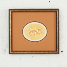 Load image into Gallery viewer, Cats At Play Lithography Framed