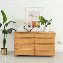 Load image into Gallery viewer, Heywood Wakefield Eight Drawer Dresser