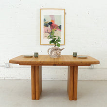 Load image into Gallery viewer, Solid Oak Boho Restored Dining Table