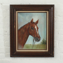 Load image into Gallery viewer, Authentic Oil Painting Framed Horse