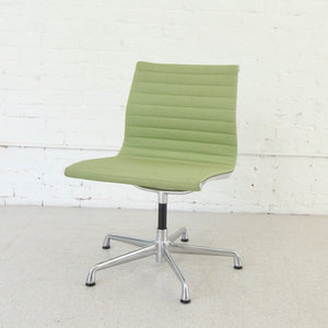 Vintage Avocado Swivel Office Chair