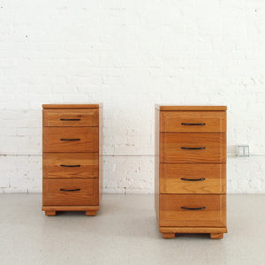 Mengal Four-Drawer Tall Nighstands