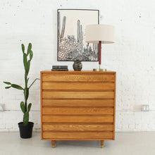 Load image into Gallery viewer, Restored Boho Four Drawer Highboy Dresser