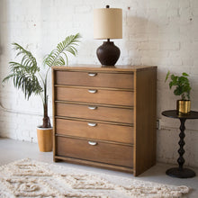 Load image into Gallery viewer, Five-Drawer Highboy w/ Brass Pulls by UNITED Furniture Corp Lexington