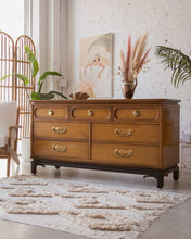 Load image into Gallery viewer, Hollywood Regency Seven Drawer Dresser One T