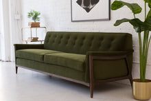 Load image into Gallery viewer, Franklin Sofa in Olive Green