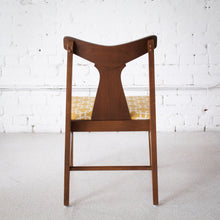 Load image into Gallery viewer, Walnut & Gold Horn Chairs - Set of 5