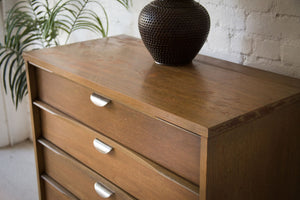 Five-Drawer Highboy w/ Brass Pulls by UNITED Furniture Corp Lexington