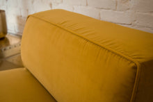 Load image into Gallery viewer, Citron Velvet Lounge Chair
