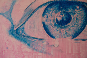 Brutalist Eye by C. Platero Original Art