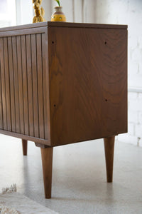 Walnut Bar Cabinet by Woodland
