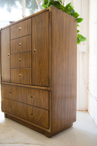 Drexel Armoire Highboy Cabinet