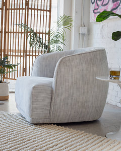 Giselle Modern Swivel Lounge Chair