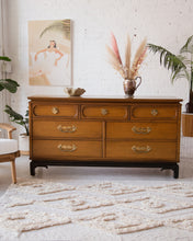 Load image into Gallery viewer, Hollywood Regency Seven Drawer Dresser