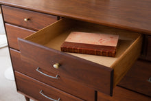 Load image into Gallery viewer, Solid Walnut Nine Drawer Dresser