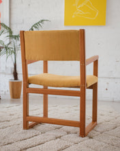 Load image into Gallery viewer, Mustard Armchair
